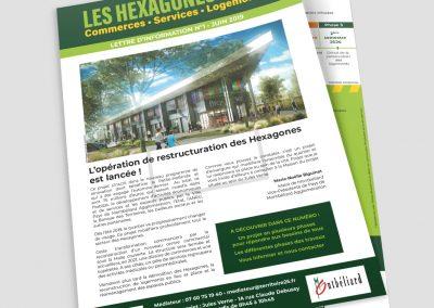 LES HEXAGONES lettre information