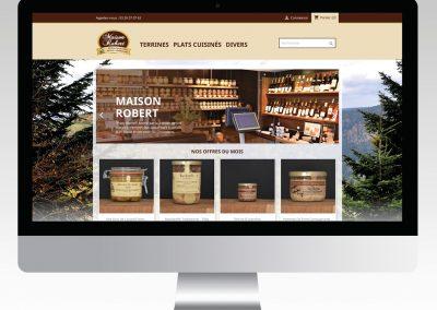 MAISON ROBERT site internet vente en ligne