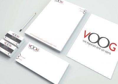 vOOg logo et charte graphique